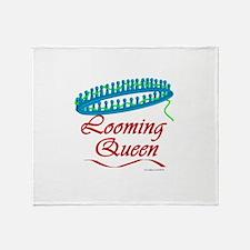Looming Queen Throw Blanket