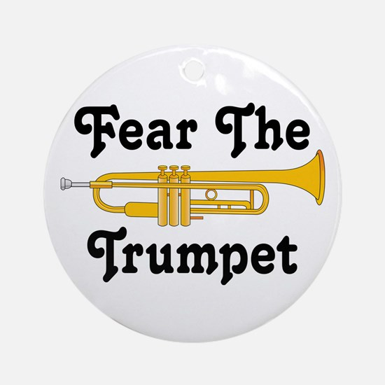 Fear The Trumpet Music Ornament Gift