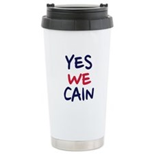 Yes we Cain Travel Mug