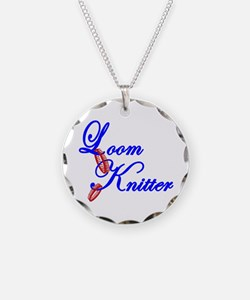 Loom Knitter Necklace