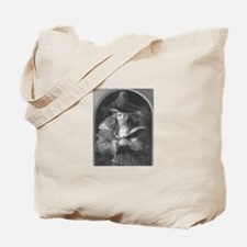 Antique Witch Girl Tote Bag