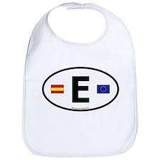 Cute Espana football Bib