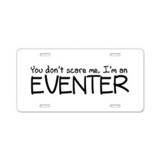 Eventing Aluminum License Plate