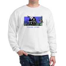 Grim's Neighborhood Halloween Sweatshirt
