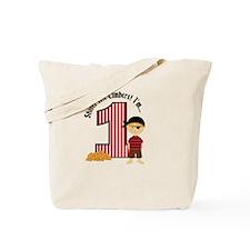 Pirate 1st Birthday Tote Bag