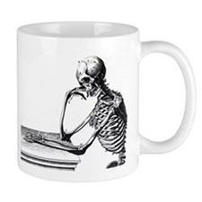 Thinking Skeleton Mug