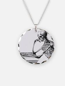 Thinking Skeleton Necklace