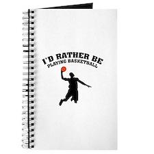 Playing basketball Journal