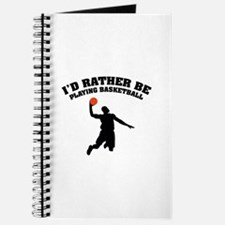 Playing basketball Journal