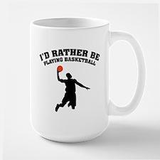 Playing basketball Mug