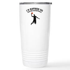 Playing basketball Travel Mug
