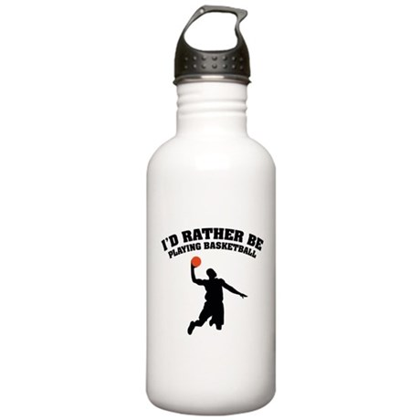 Playing basketball Stainless Water Bottle 1.0L