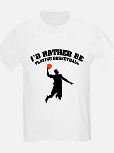 Playing basketball T-Shirt