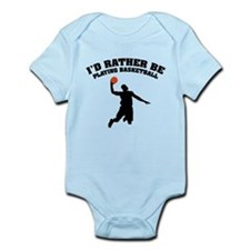 Playing basketball Infant Bodysuit