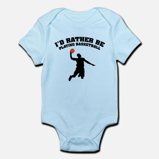 Playing basketball Infant Bodysuit