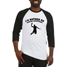 Playing basketball Baseball Jersey