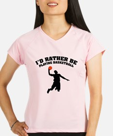 Playing basketball Performance Dry T-Shirt