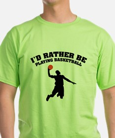 Playing basketball T-Shirt