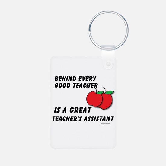 Great Teacher's Assistant Keychains
