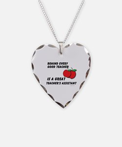 Great Teacher's Assistant Necklace
