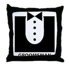 Groomsman Throw Pillow