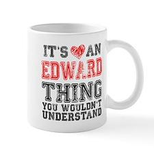 Red Edward Thing Small Small Mug
