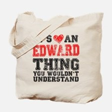 Red Edward Thing Tote Bag