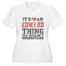 Red Edward Thing T-Shirt