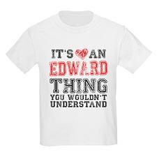 Red Edward Thing Kids Light T-Shirt