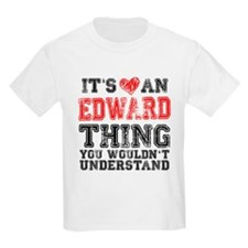 Red Edward Thing T-Shirt