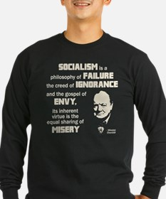 Churchill Socialism Quote T