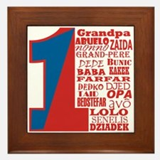 #1 Grandfather / Framed Tile