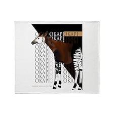 Okapi Throw Blanket