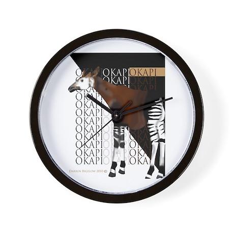 Okapi Wall Clock