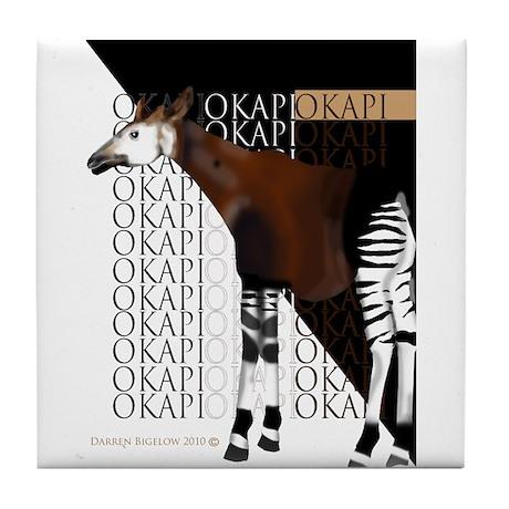 Okapi Tile Coaster