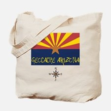 Geocache Arizona Tote Bag