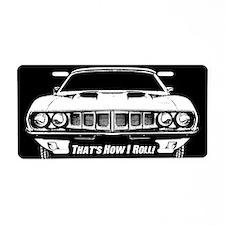 How I Roll - 'Cuda Aluminum License Plate