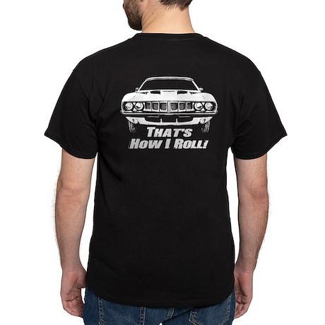 How I Roll - 'Cuda Dark T-Shirt