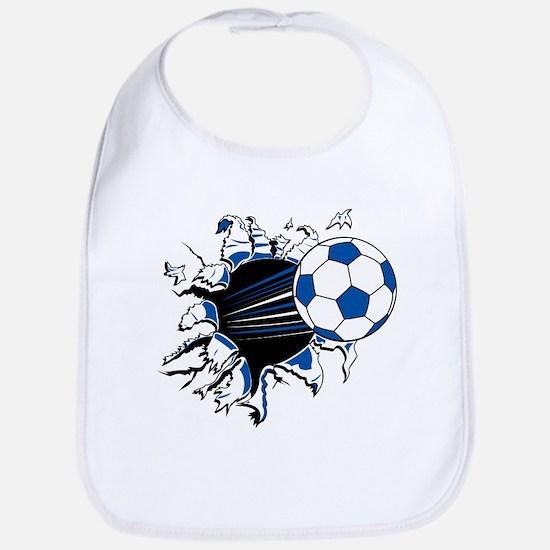 Soccer Ball Burst Bib