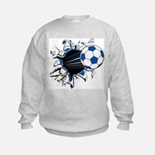 Soccer Ball Burst Sweatshirt