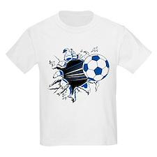 Soccer Ball Burst Kids T-Shirt