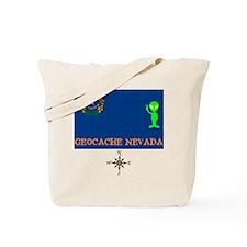 Geocache Nevada Tote Bag