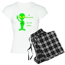 Go Geocaching See the World pajamas