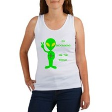 Go Geocaching See the World Women's Tank Top