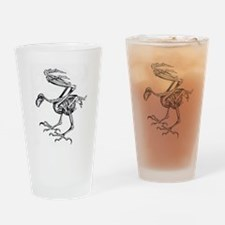 Cute Victorian gothic Drinking Glass