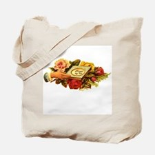 Victorian - Forget Me Not Tote Bag
