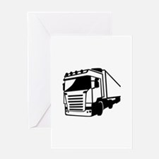 Truck Greeting Card