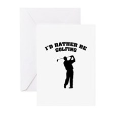 I'd rather be golfing Greeting Cards (Pk of 20)