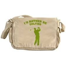 I'd rather be golfing Messenger Bag