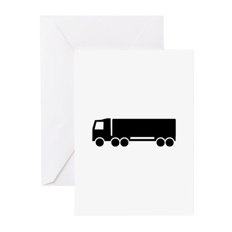 Truck Greeting Cards (Pk of 20)